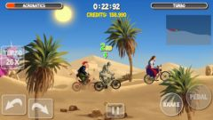 free iPhone app Crazy Bikers 2