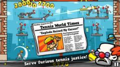 free iPhone app Tennis in the Face