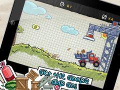 free iPhone app Doodle Truck 2