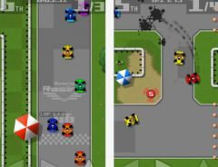 free iPhone app Retro Racing