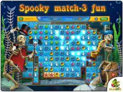 free iPhone app Fishdom: Spooky Splash HD