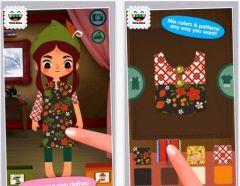 free iPhone app Toca Tailor Fairy Tales