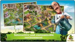 free iPhone app Gardenscapes