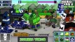 free iPhone app Hero Wars 2: Zombie Virus