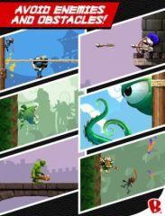 free iPhone app NinJump Deluxe HD