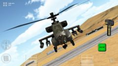 free iPhone app Apache 3D Sim