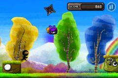 free iPhone app Color Rush Ninja