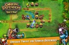 free iPhone app Goblin Defenders: Steel