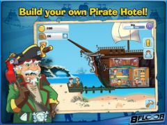 free iPhone app Pirate Hotel Tycoon