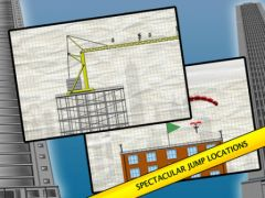 free iPhone app Stickman Base Jumper