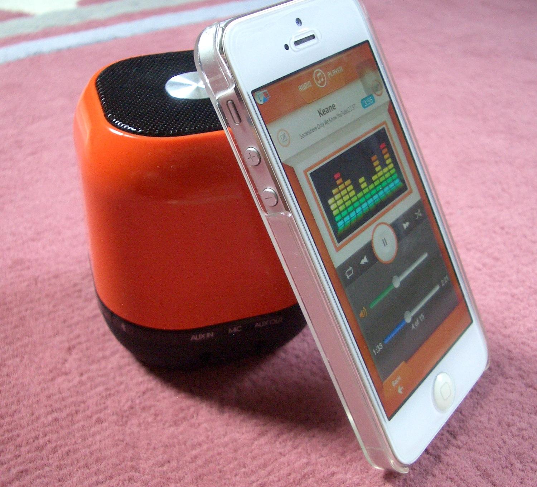 en test l 39 enceinte sans fil pour iphone et smartphone. Black Bedroom Furniture Sets. Home Design Ideas