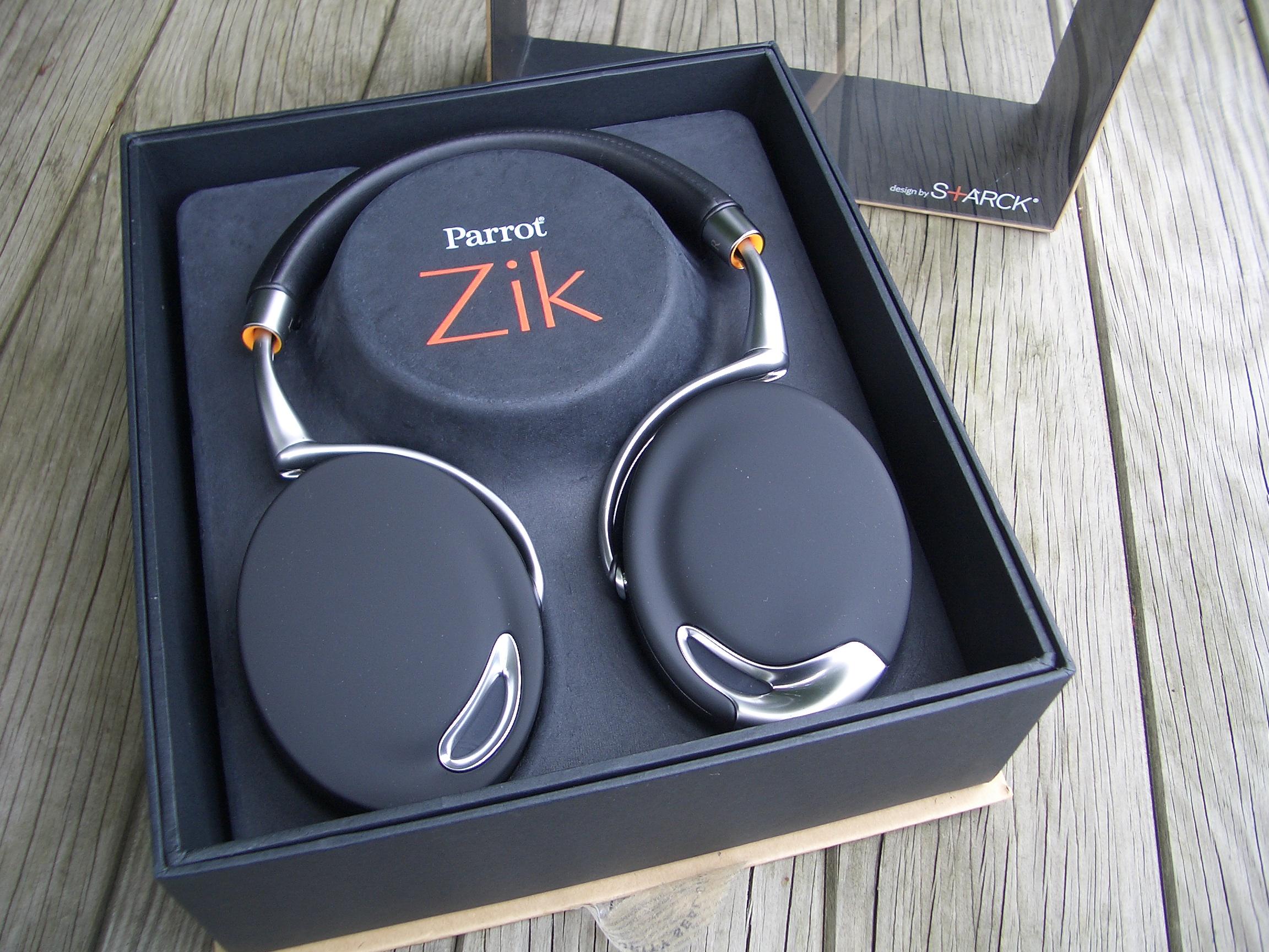 Test Du Casque Parrot Zik Casque Sans Fil Bluetooth Avec