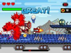free iPhone app Ninja Sprint
