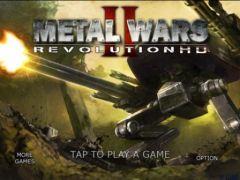 free iPhone app MetalWars2 HD
