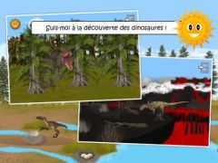 free iPhone app Find them all: dinosaurs world