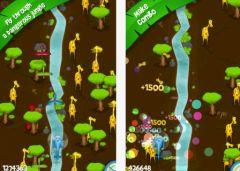 free iPhone app Flip Flap la girafe
