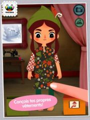 free iPhone app Toca Tailor Fairy Tales