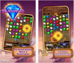 free iPhone app Bejeweled