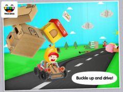 free iPhone app Toca Cars