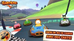 free iPhone app Garfield Kart