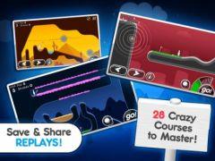 free iPhone app Super Stickman Golf 2