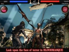 free iPhone app BLOODMASQUE