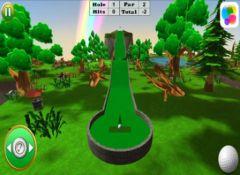 free iPhone app Ultimate Mini Golf