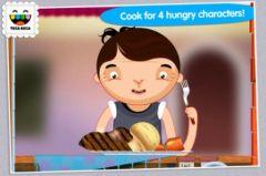 free iPhone app Toca Kitchen