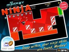 free iPhone app Monkey Ninja