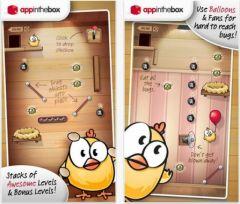 free iPhone app Drop The Chicken