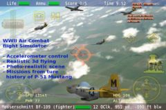 free iPhone app Warbirds P-51 Mustang ACE