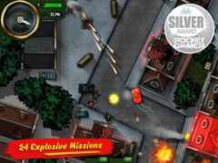 free iPhone app iBomber Attack
