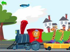 free iPhone app Zoo Train