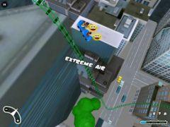 free iPhone app New York 3D Rollercoaster Rush HD