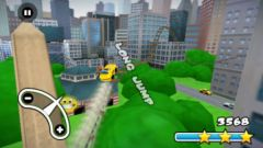 free iPhone app New York 3D Rollercoaster Rush