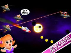 free iPhone app Space Chicks