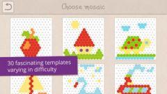 free iPhone app Kids Mosaic