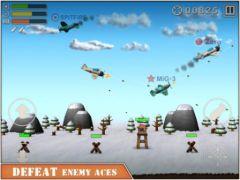free iPhone app Sky Aces 2