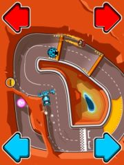 free iPhone app Blonde vs Brunette Racing