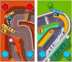 free iPhone app Blonde vs Brunette Racing