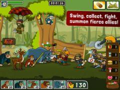 free iPhone app Lumberwhack: Defend the Wild