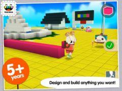 free iPhone app Toca Builders