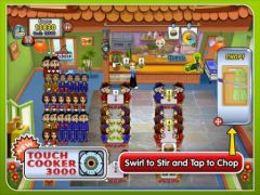 free iPhone app Diner Dash: Grilling Green Deluxe
