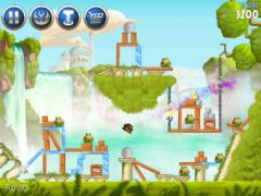 free iPhone app Angry Birds Star Wars  II