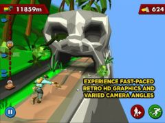 free iPhone app PITFALL!