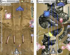 free iPhone app Shock-X. - Space shooter wars paper