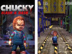 free iPhone app Chucky: Slash & Dash