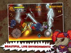 free iPhone app God of Fight