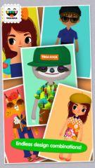 free iPhone app Toca Tailor