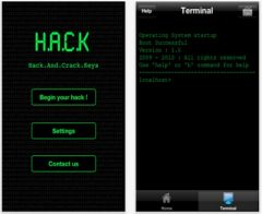 free iPhone app H.A.C.K